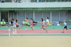 男子1,2年生 50m決勝