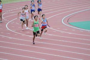女子5,6年4×100mリレー決勝